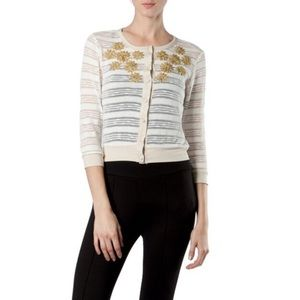A'reve from Anthropologie Semi Sheer Cardigan
